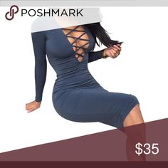 Sexy party dress Perfect fit that curves with your body. Shows the right amount of sexiness with a splash of class. Dresses Long Sleeve