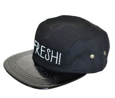 "LITTLE URBAN APPAREL - ""FRESH"" SNAPBACK - BLACK Baby and Children Hat"