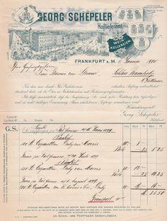 6xxxx Frankfurt/Main - Georg Schepeler. Wein-Kellereien. Hoflieferant. 1900 (Neues) - Die Bücher-Berg - Preiswerte Bücher für Leser und Sammler