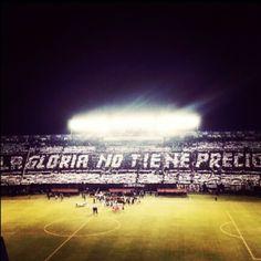 Preferencias del Defensores del Chaco .. minutos antes de empezar el partido de la final de la Libertadores