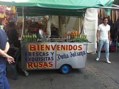Rusas stand, Fruit, Tlaquepaque, Veracruz