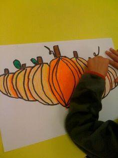 Pumpkin Drawing/Shading