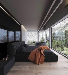 Bedroom Door Design, Decoration Bedroom, Modern Interior Design, Interior Design Inspiration, Daily Inspiration, Luxurious Bedrooms, House Rooms, Luxury Homes, House Design