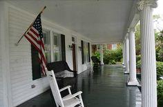 Front Porch Elena Gilbert House Vampire Diaries Mystic Falls VA Covington GA