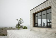 :: ARCHITECTURE :: Shift Cottage designed by Superkul Inc Architect, lovely ocean front home ... got to love the exterior wood cladding #architecture