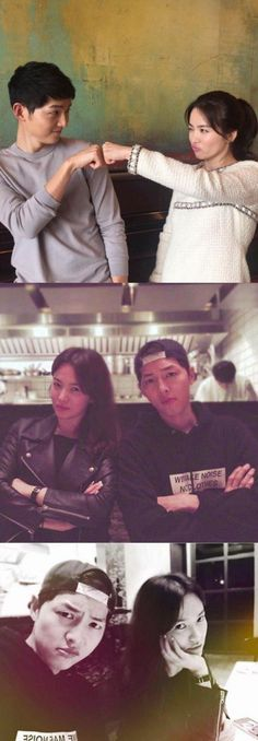 """Song Song couple's cute images released"