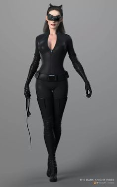 You will love MACHINE Shop Café ● 3D of a Catwoman (Rendered) ●