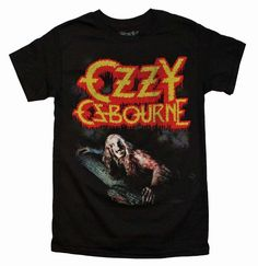 3244ca38c5c New Ozzy T-Shirt Black Concert Tour Band Soft Sm-XL Men s Women s Vintage