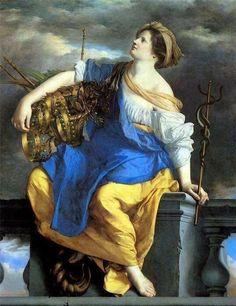 Orazio Gentileschi, Artemisia Gentileschi, Italian Painters, Caravaggio, Old Master, Western Art, Art Reproductions, Baroque, Rococo