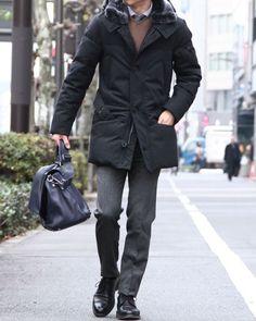 ファー付きウールベルテッドダウンジャケット【HURRICANE Wool】|PEUTEREY(ピューテリー)|TOKYOlife(東京ライフ)
