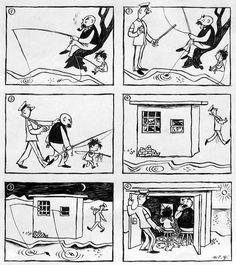 Die erste Vater & Sohn – Geschichte, die am 13.12.1934 veröffentlicht wurde
