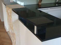 poliert, geflammt oder satiniert– granit arbeitsplatten bieten mit