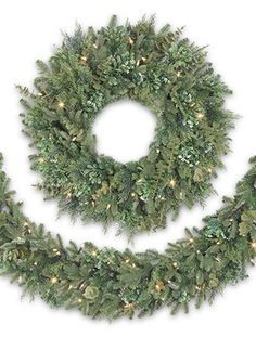 Inspired by a perpetually lush landscape, the BH Fraser Fir Meadow wreaths are home decor pieces for every season.