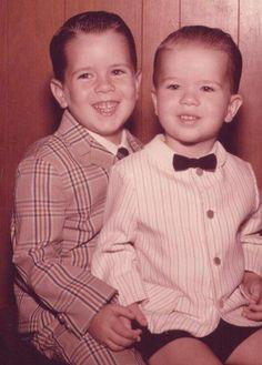 Dimebag Darrell and Vinny Paul as kids