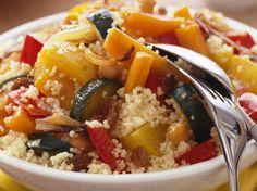 Découvrez la recette Couscous végétarien sur cuisineactuelle.fr.