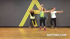 """REFIT® CardioDance Fitness """"All I Want For Christmas Is You""""  The Newsboys"""