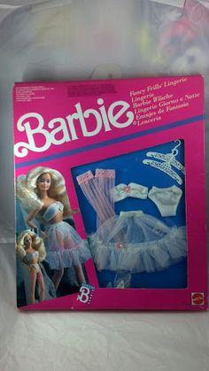 Hilarious Vintage barbie Lengerie MOC set by PoniesAndPets on Etsy