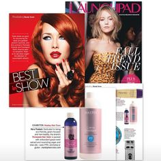 """Mastey Hair Color is featured in the 2015 Fall Trends issue of Beauty Launchpad Magazine for """"Best in Show"""".  www.masteyhaircolor.com"""