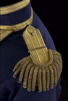 Regency uniform epaulette