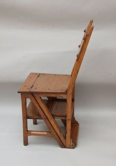 Mission Style Furniture, Library Chair, Project Ideas, Projects, Stool, Arts And Crafts, Chairs, How To Make, Design