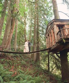 10 Unique Wedding Venues / Treehouse