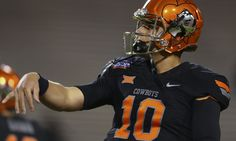 Hyping of Oklahoma State QB Mason Rudolph - Today's U  Oklahoma State quarterback Mason Rudolph enters this season with big expectations from OSU fans and a target on his back from critics.....