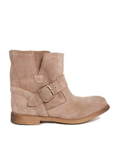 Park Lane Suede Biker Boot