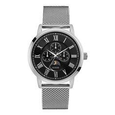Una collezione di combinazioni iconiche griffate ispirate dal lifestyle GUESS. Il design trendy e all'avanguardia degli orologi GUESS offre uno stile dinamico.