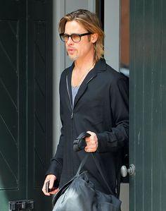 Brad Pitt getting framed