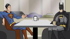 Who'd Win? #Superman or #Batman? - Super Cafe: Versus