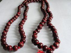 Red Sandalwood Buddhist Rosewood Beads Prayer by beadsincredible, $6.99