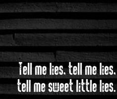 Fleetwood Mac - Little Lies - 1987 Album = Tango In the Night Song Lyrics