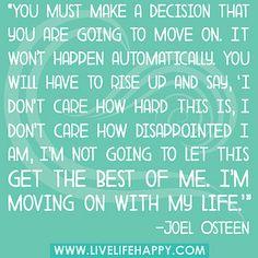 Make the decision.