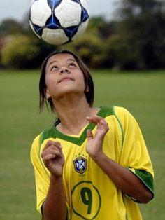 The young Sam Kerr Female Football Player, Football Soccer, Football Players, Soccer Ball, Soccer World, Sports Stars, Training Center, Matilda, Tobin Heath