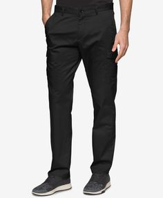 Calvin Klein Men's Slim-Fit Stretch Tech Cargo Pants