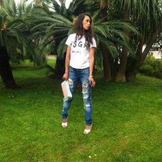 Chica Salvadoreña residente en Italia  instagram: AliciaGiron