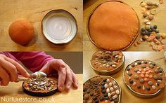 play dough activities rangoli mandalas by Cathy @ Nurturestore.co.uk, via Flickr