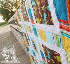 (7) Name: 'Quilting : Sawyer's Tracks Modern Quilt Pattern