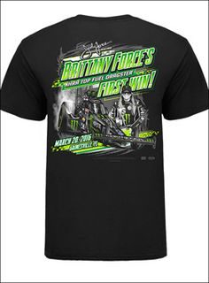 Brittany Force First Win Tee