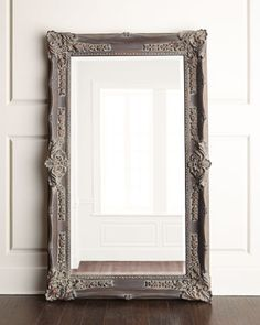 """""""Antique French"""" Floor Mirror at Horchow."""