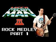 Dude SHREDS the Opening NES Mega Man III Title Song on Electric Guitar