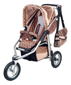 Leopard stroller! This is so necessary!
