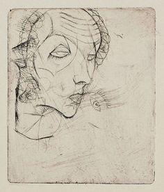 Selbstbildnis, Egon Schiele, 1914