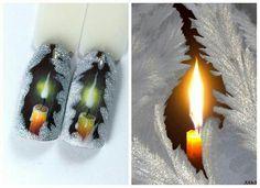 #naildesign #nailart #christmasnailart #candlenailart