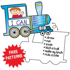A Preschool Train Craft: The Little Engine that Could