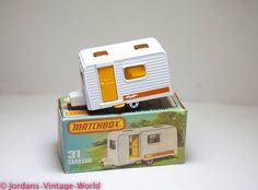 I had one of these - Matchbox+Supefast+No+31+Caravan+Boxed+-+Mint+Vintage+Original+Model