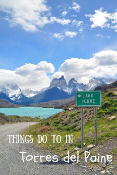 Travel tips for Torres del Paine National Park in Chile South America Destinations, South America Travel, Cool Places To Visit, Places To Travel, Patagonia, Torres Del Paine National Park, Chili, Peru, Travel Around The World