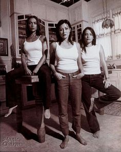 Songs Used in Charmed. I love that show! Listen to this when you're in a mood :) Holly Marie Combs, Rose Mcgowan, Serie Charmed, Charmed Tv Show, Shannen Doherty, Alyssa Milano, Phoebe And Cole, How Soon Is Now, Girls Rules
