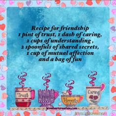 Friendship Quotes and Selection of Right Friends – Viral Gossip Friendship Recipe, Friend Friendship, Nanny Quotes, Best Friend Quotes, Meaningful Quotes, Inspirational Quotes, Fun Quotes, Friendship Quotes Images, The Joys Of Motherhood