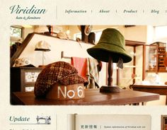 Viridian Hats & Furniture WEB SITE